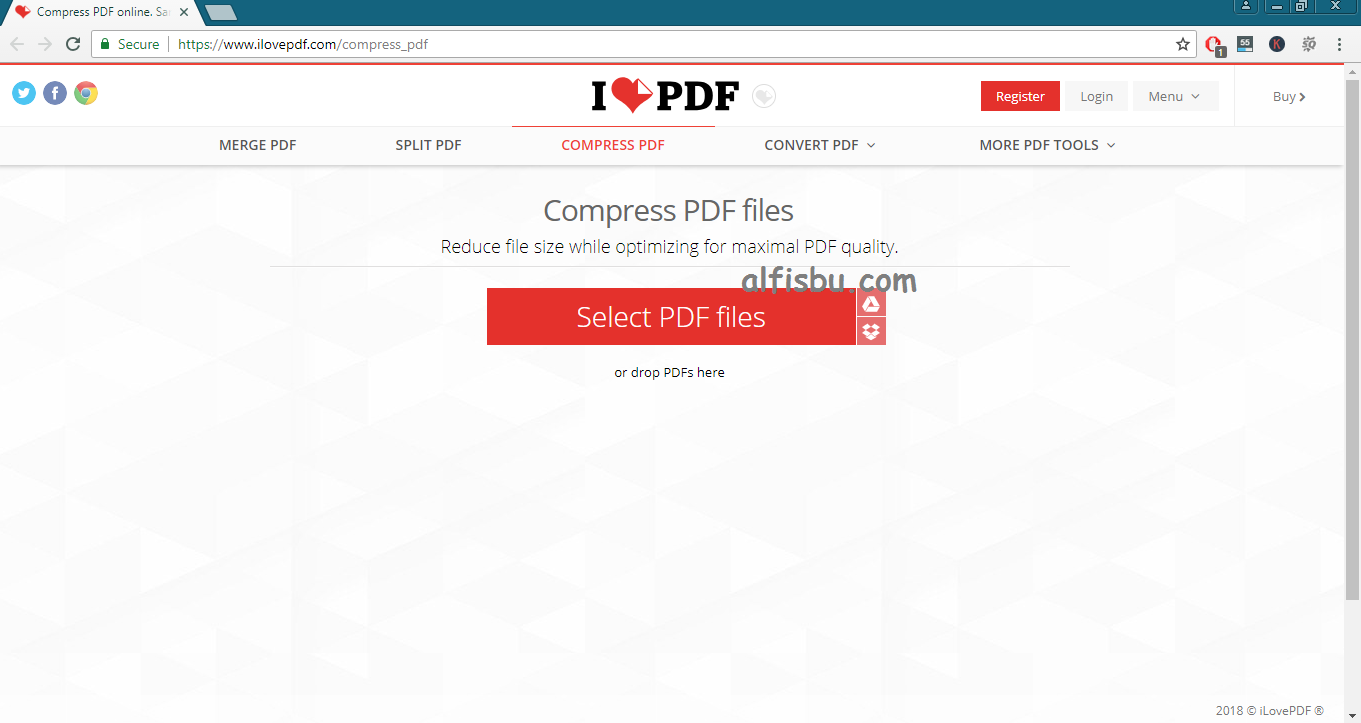 alfisbu cara compress file pdf