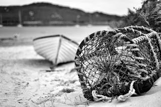 Pot and boat Bryher