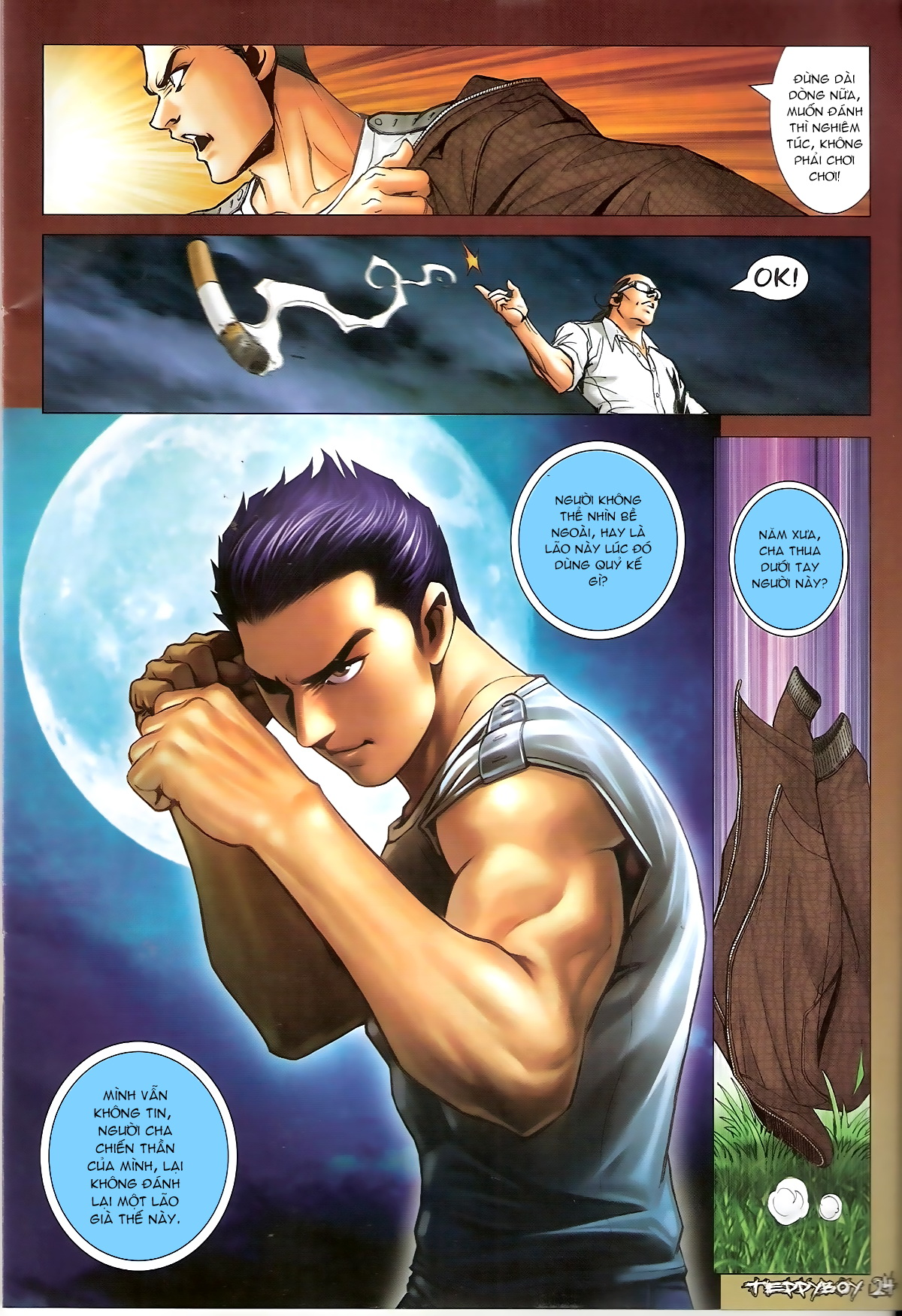 Người Trong Giang Hồ - Chapter 1317: Tao phải thắng lão - Pic 20