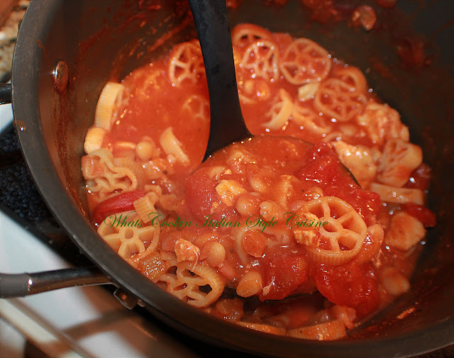 Wagon Wheels Chicken Pasta Fazool Recipe