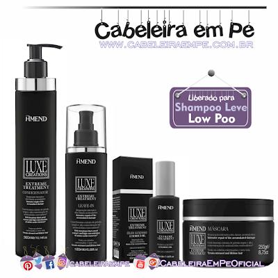 Linha Luxe Creations Extreme Treatment - Amend (Todos os produtos da linha liberados para Low Poo - Exceto o shampoo)