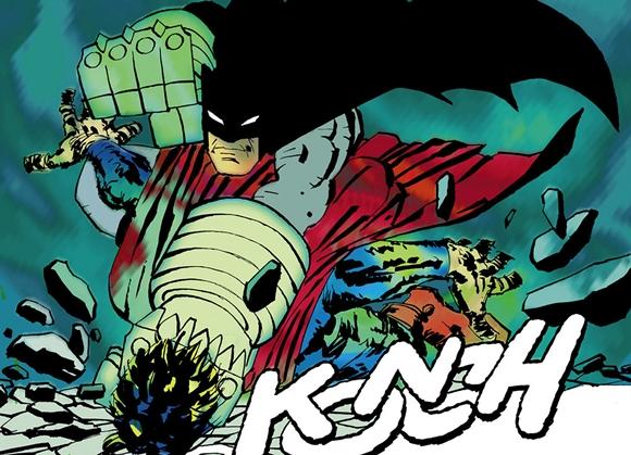 Batman destrozando a Superman