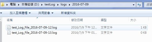 Java Apache Log4j RollingFileAppender 設定每小時切檔