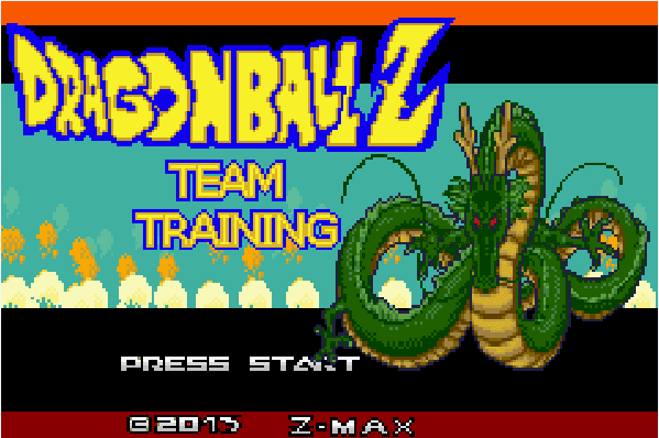 Dragon Ball Z: Team Training (Hacked) GBA ROM