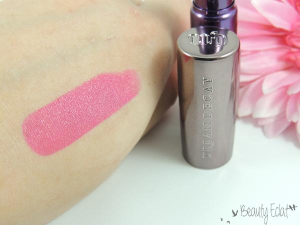 revue avis test urban decay revolution lipstick