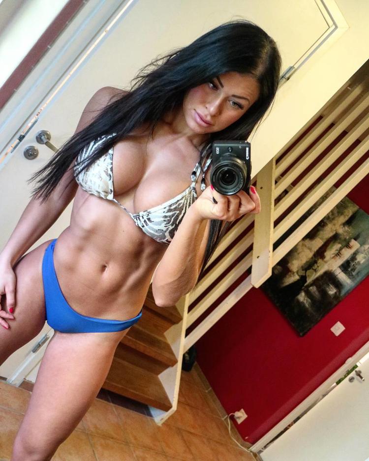 Clara Felicia Lindblom Fitness Model Instagram