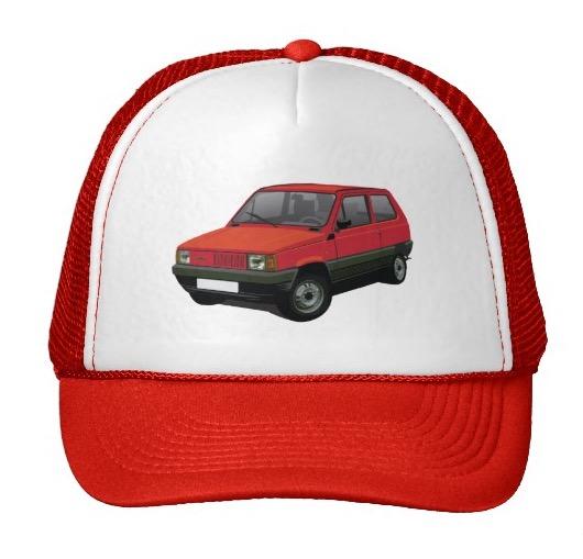 Fiat Panda hat