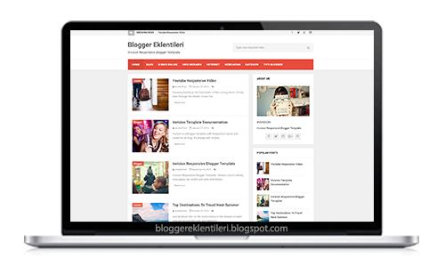 Mobil Uyumlu Blogger Teması