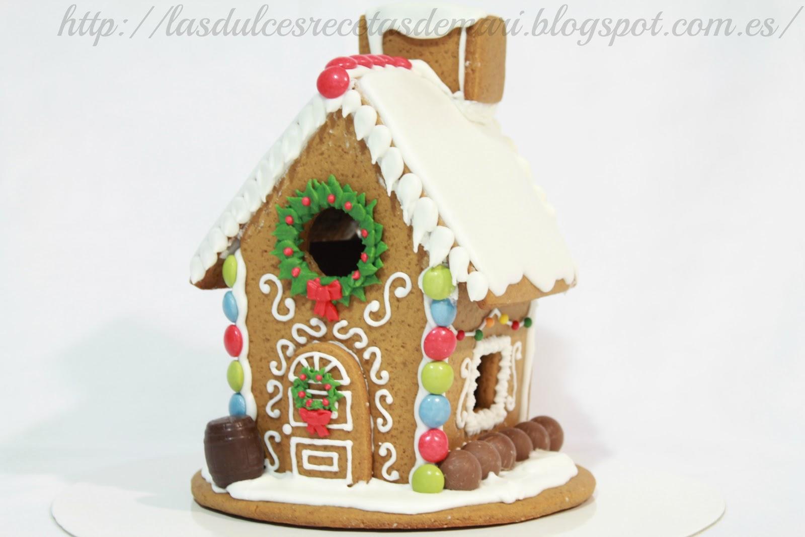 Galletas de navidad galletas de jenjibre las dulces - Casitas de nacimientos de navidad ...