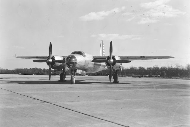 25 November 1940 worldwartwo.filminspector.com B-26 Marauder maiden flight