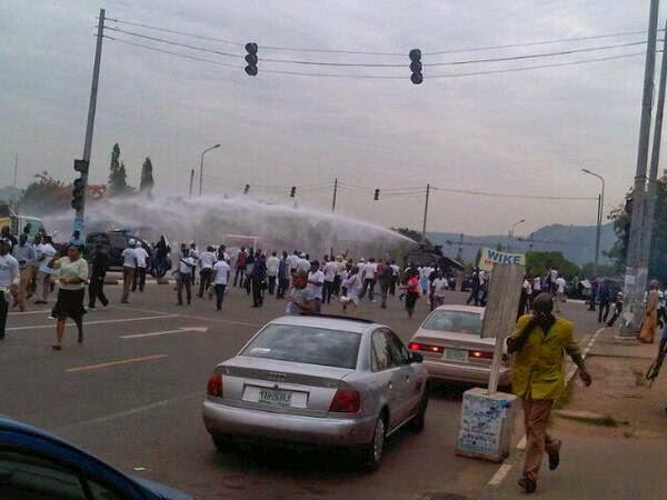protest abuja police