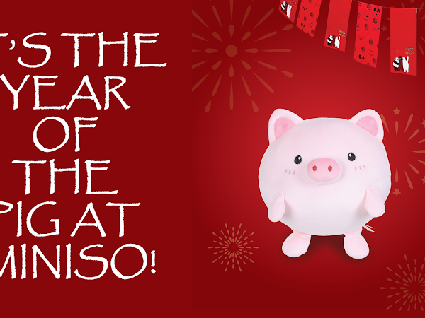 IT'S THE YEAR OF THE PIG AT MINISO!
