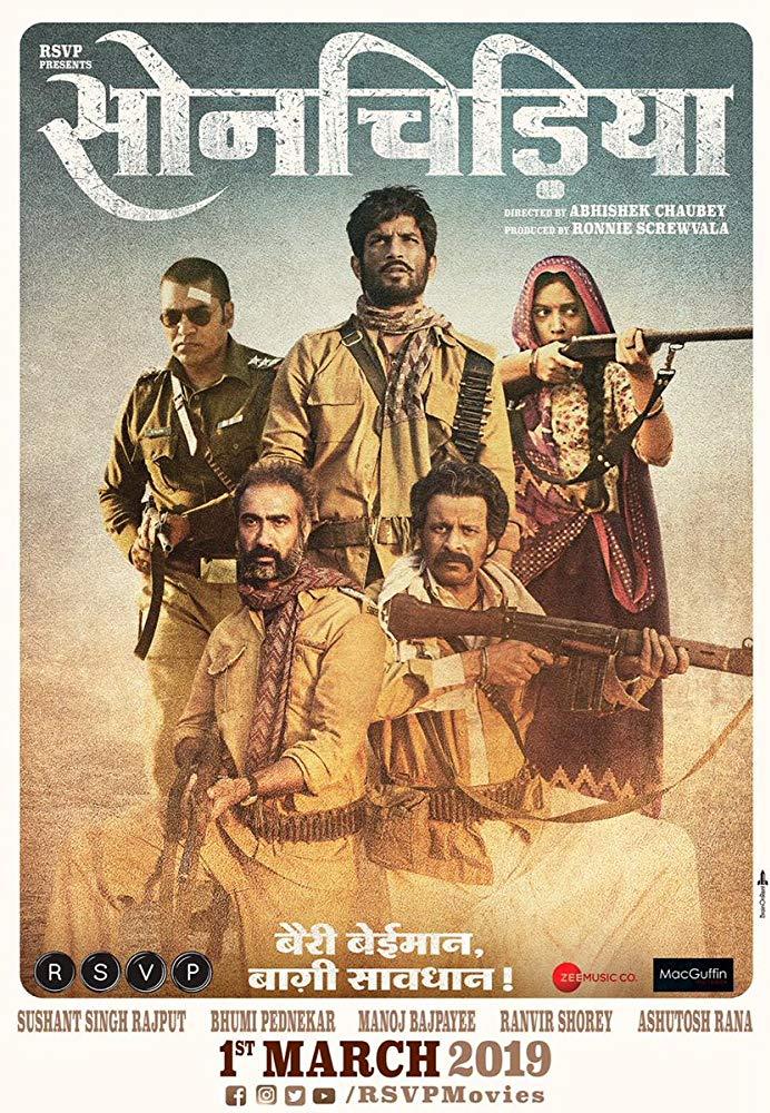 Sonchiriya 2019 Hindi 720p WEB HDRip 1Gb x264