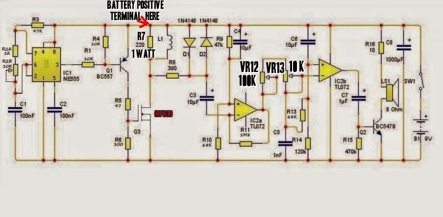 Pdf metal detector circuit