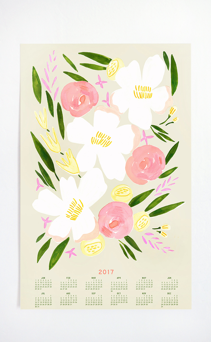 2017 Calendar by Lisa Rupp