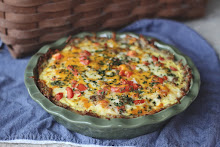 Sausage Potato Quiche