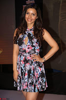 Kyra Dutta in a Deep neck Small Dress at Shamanthakamani pre release function ~  Exclusive 112.JPG