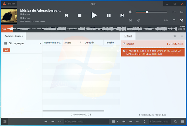 4 reproductores de audio pequeños y ligeros para Windows - El blog de HiiARA