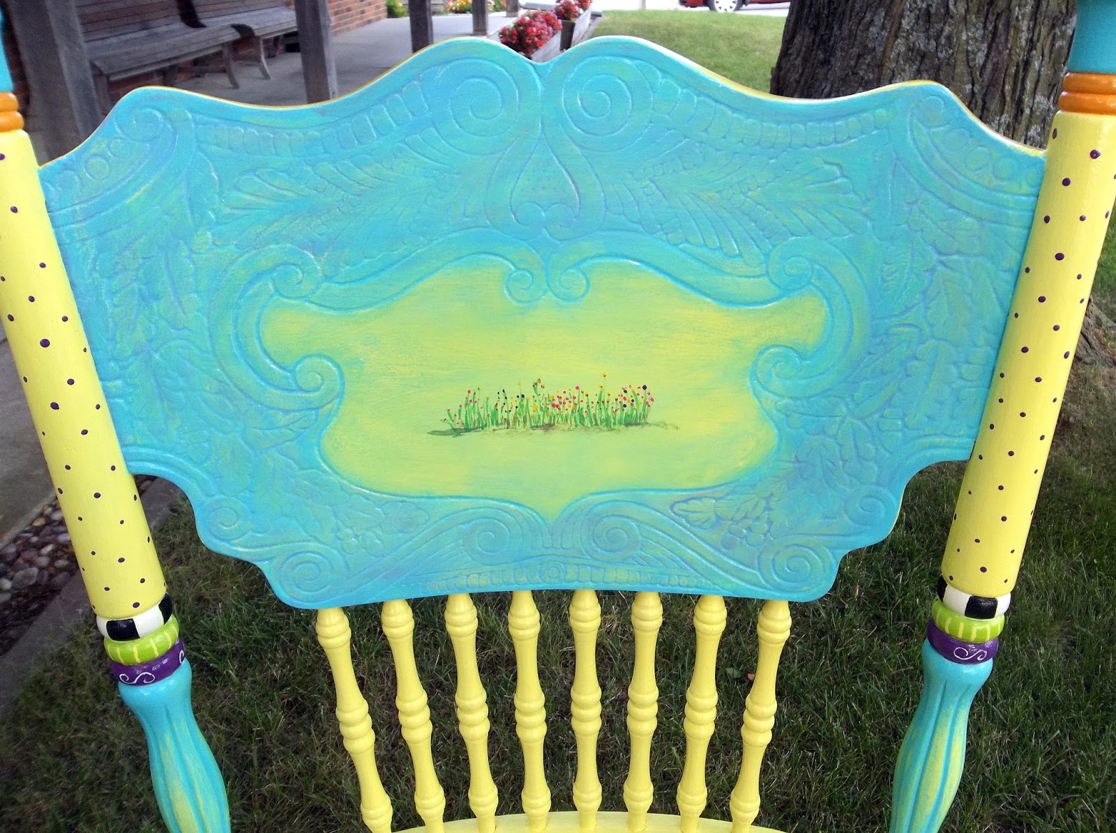 carolyns funky furniture the painted chairs carolyn funky furniture