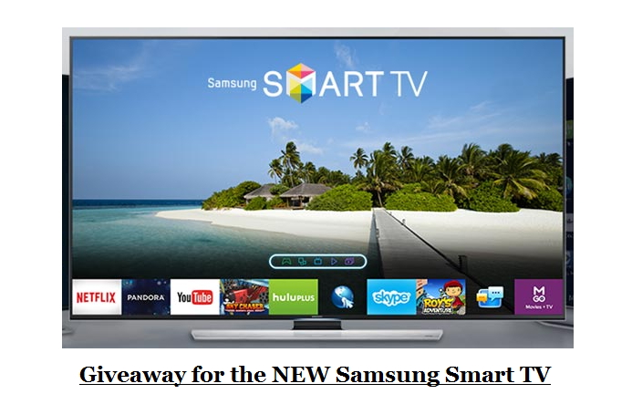 Just A Country Gal: Giveaway for the NEW Samsung Smart TV!