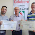 Conselho de Pastores entregou a renda da Festa Italiana para a Santa Casa