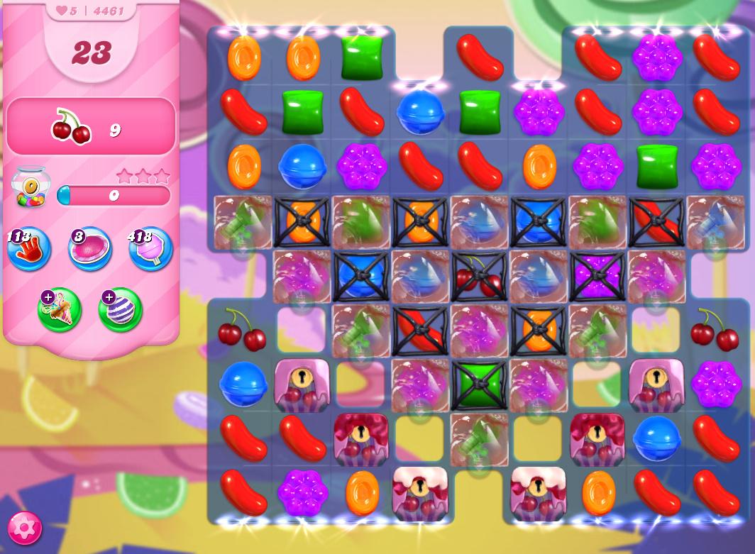 Candy Crush Saga level 4461