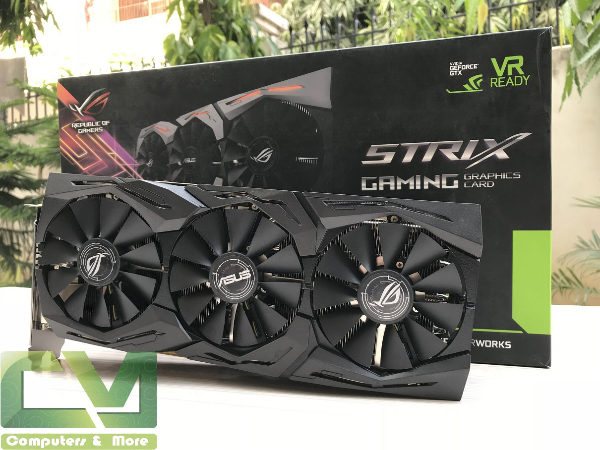 Asus ROG STRIX GTX 1080 Ti OC Review ~ Computers and More