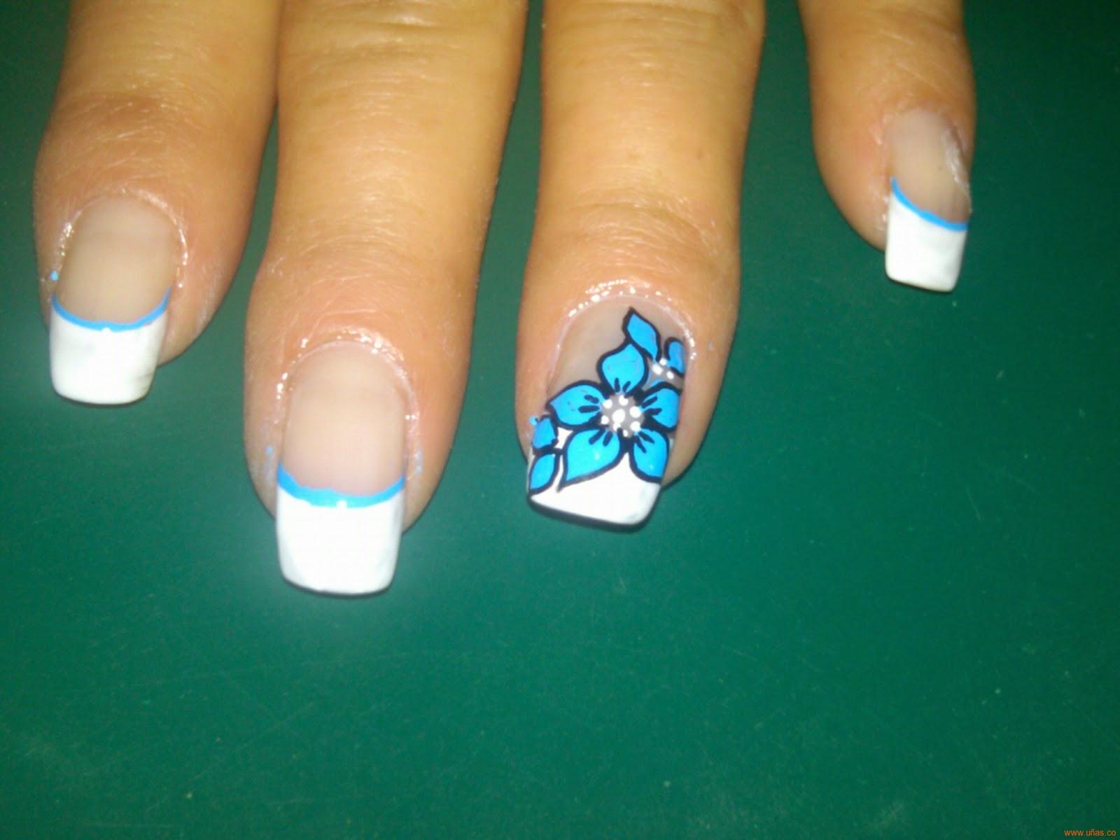 Imagenes de uñas decoradas, diseños y estilos de uñas - IMÁGENES de ...