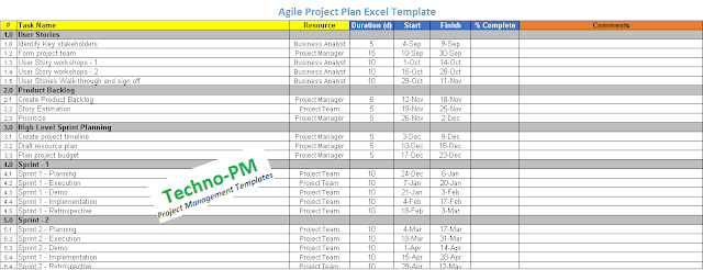 agile project plan template excel, excel agile project plan template