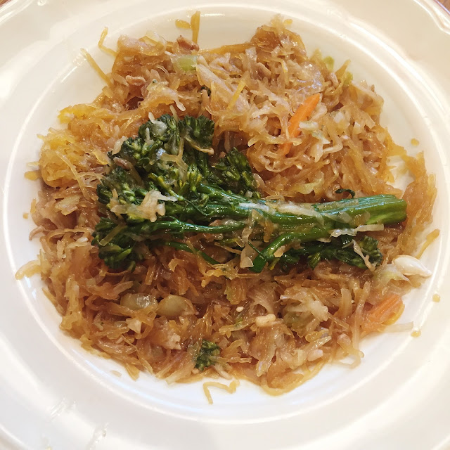 Low Carb Recipe: Spaghetti Squash Chow Mein