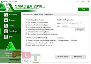 Smadav 2018 Rev11.8 Pro Download Link And Activation Key