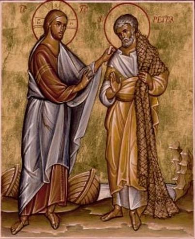 """Image result for caesarea philippi jesus peter icon"""""""