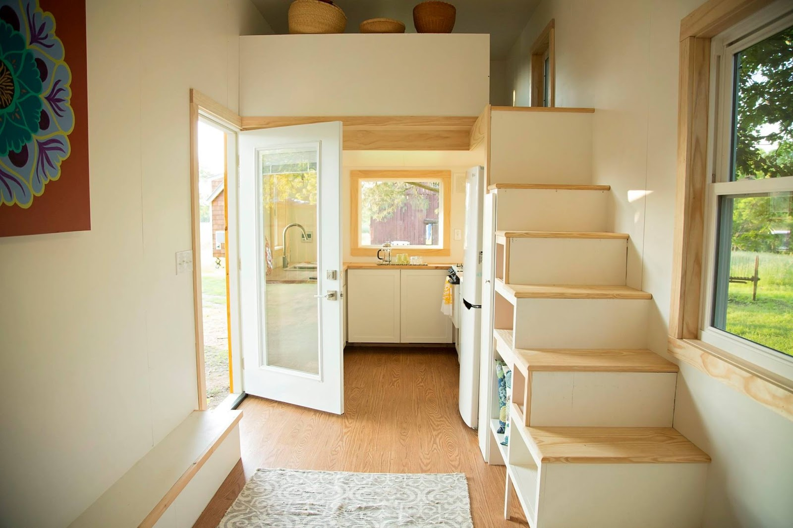 TINY HOUSE TOWN: The Boho Home From Perch and Nest on bad modern building, bad apartment building, bad idea house building, bad team building, cheap home building,
