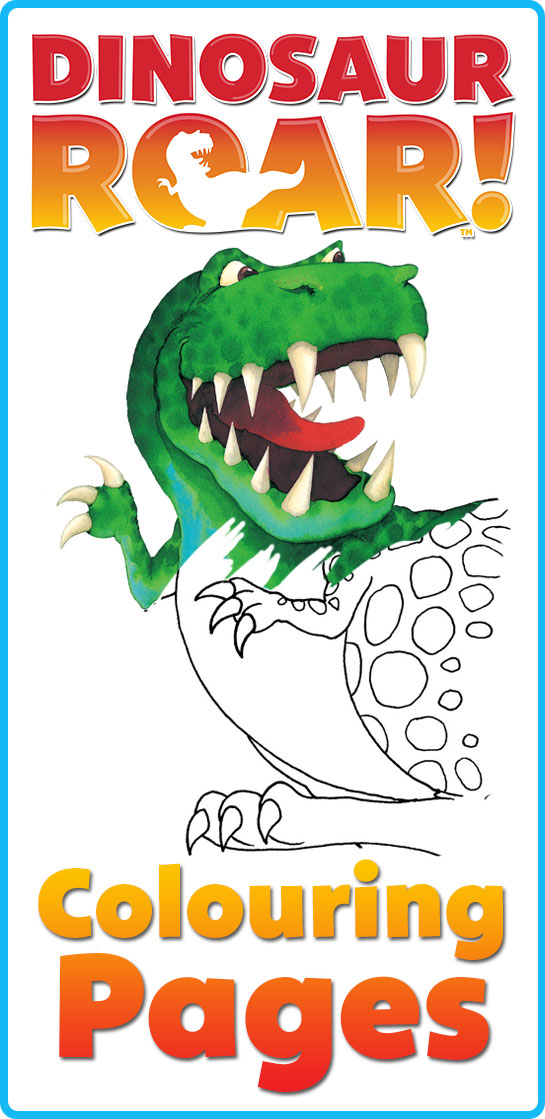 free dinosaur downloads, dinosaur roar, dinosaur coloring pages, dinosaur colouring pages, free dinosaur printables,