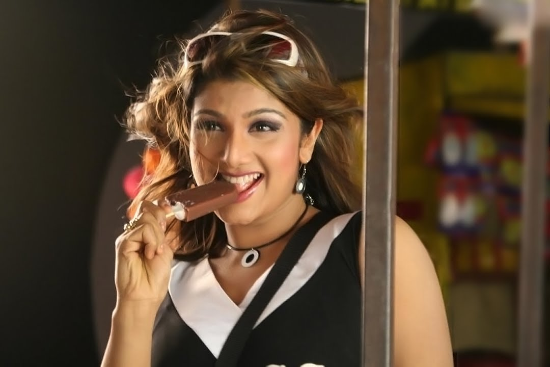 Tollywood Actress Rambha Photos In Black Top Jeans