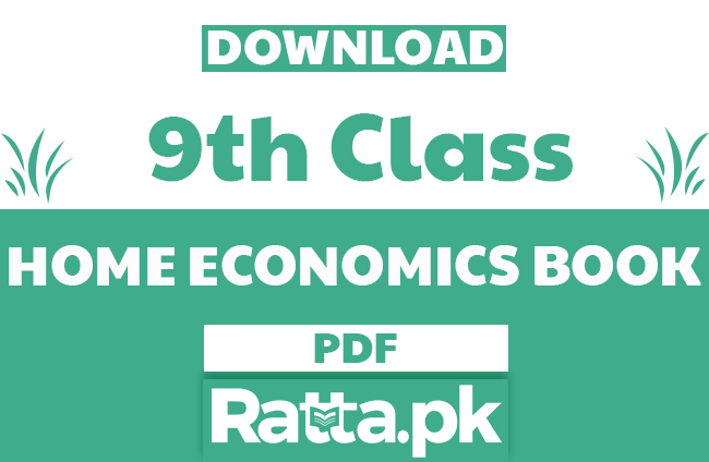 9th class Home Economics Book pdf Download - Punjab Textbook board