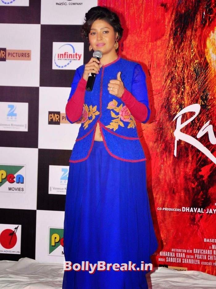 Sunidhi Chauhan, Pics from 'Rang Rasiya' Music Launch