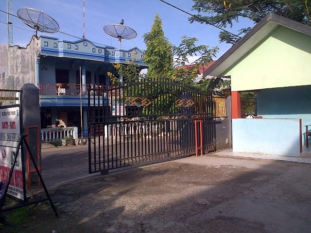 Gerbang depan dan gerbang utama Smansa Pinrang Beginilah SMA Negeri 1 Pinrang Zaman Dulu