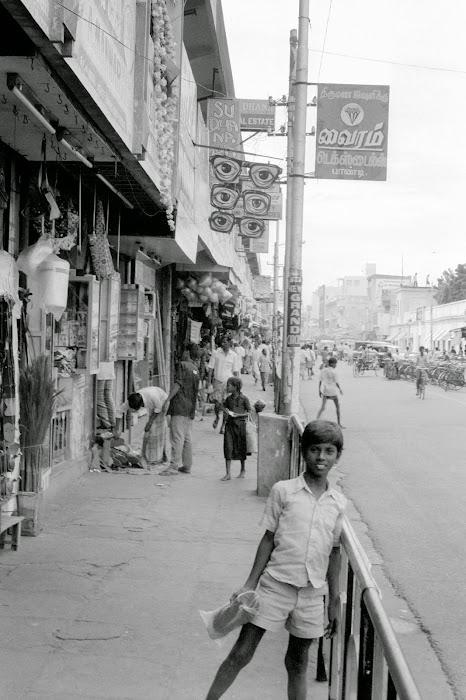 Pondichéry, rue Needarajapayar, © L. Gigout, 1990