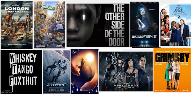 Ini Lho, 10 List Film Terbaru Maret 2016 yang Paling di Tunggu