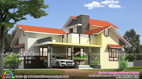 Modern 4 bedroom 1479 square feet home