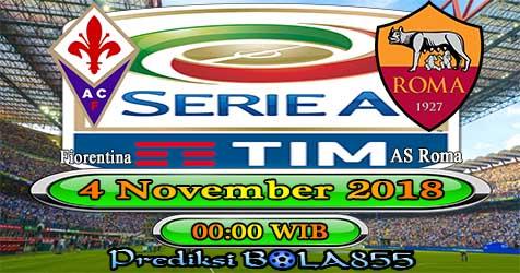 Prediksi Bola855 Fiorentina vs AS Roma 4 November 2018