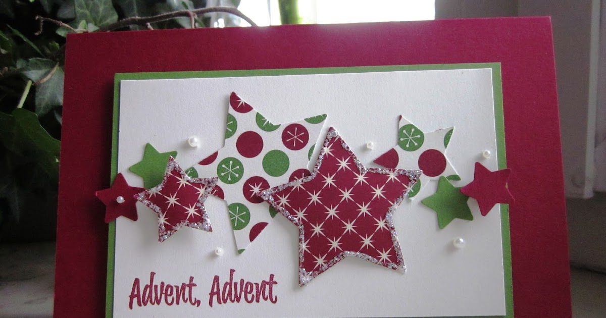 stampin with fanny advent advent. Black Bedroom Furniture Sets. Home Design Ideas