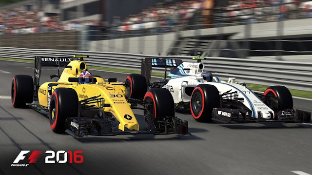 F1 2016 features