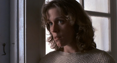 Frances McDormand as Julian Marty in Blood Simple, Blood Simple, Directed by Joel Coen, Coen Brothers debut film