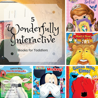 5 Wonderfully Interactive Books for Toddlers