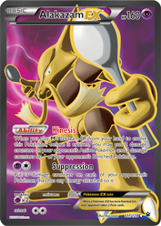 Alakazam EX Fates Collide Pokemon Card
