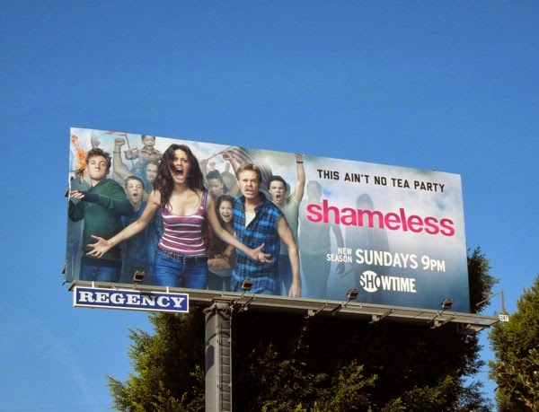 Shameless season 4 billboard