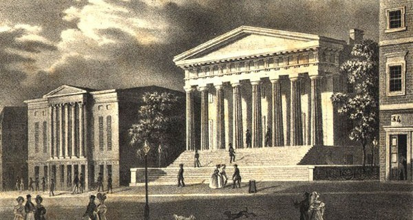 In 1791 Alexander Hamilton Started Bank of United States which was bankrupt in 1811.