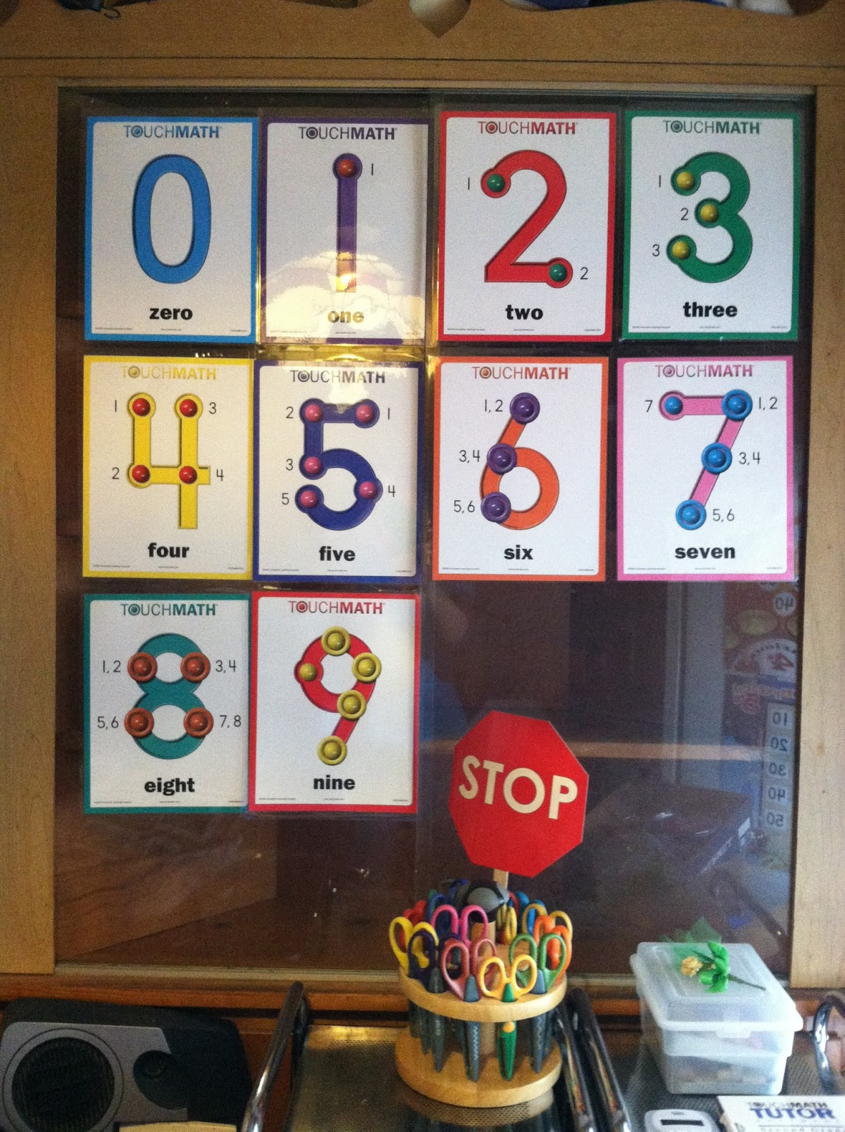Krazy Kuehner Days Doing Math The Touch Math Way